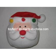 Almofada de Natal Plush Stuffed Santa Claus Plush Pillow
