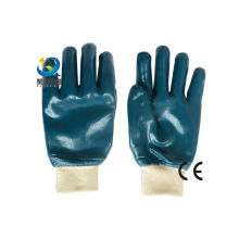 Guantes de nitrilo azul, protección del trabajo, guantes de trabajo de seguridad (N6033)