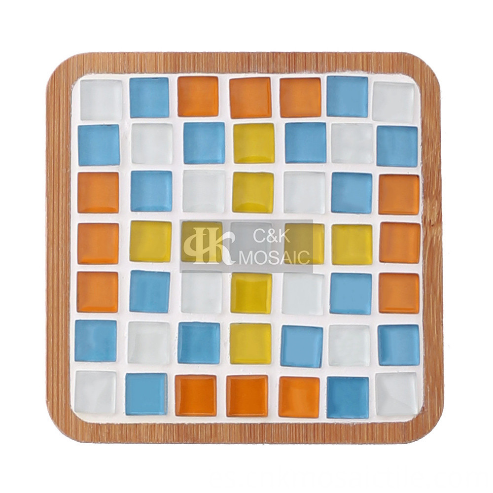 Coaster Glass Mosaic Kit