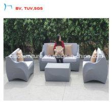 New Desige Rattan Furnitures Wicker Sofa for Garden (CF1470-A)