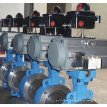 Pneumatic Operated Triple Eccentric Butterfly Valve