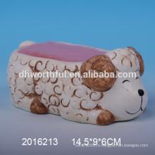 2016 Прекрасный овечье керамический держатель для губки для кухни
