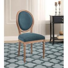 Chaise de salle à manger en bois restaurant chaise ronde chaise de bureau ergonomique