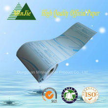 Custom Printed Cash Register Paper Roll for ATM and POS Machine