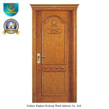 Porte en bois massif de style classique pour l'extérieur (ds-8027)