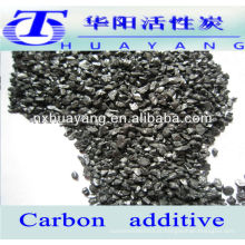 baixo teor de nitrogênio elevador de carbono / aditivo de carbono para aço fundido