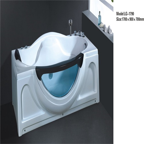 Hot sale bath tub freestanding whirlpool massage acrylic bathtub