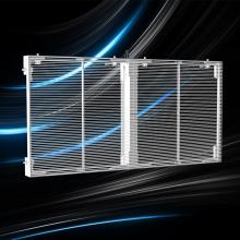Прозрачное стекло светодиодный дисплей цена