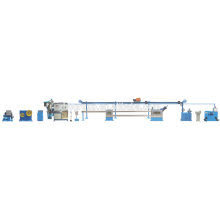 High precision double layer co-extrusion line