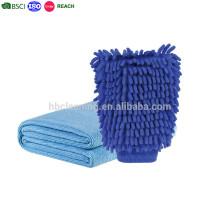 Microfiber Dual-sided wash mitt, Super Mitt Microfiber