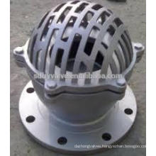 DN50-DN300 PN16/CLASS 125 foot valve with strainer