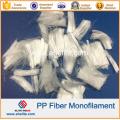 2016 New Arrival Anti-Cracking Concrete PP Fiber Polypropylene Staple Fiber