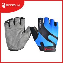 Gants de sport en daim unisex / Gants de fitness Half Finger Fitness avec transfert de sous-forme
