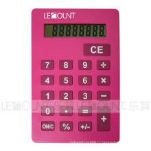 Plusieurs couleurs attrayantes Calculatrice de taille A4 avec support (LC687B-A4)