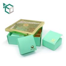 Изготовленный на заказ складная коробка подарка картона корзины чай