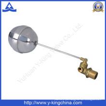 Válvula flotante de latón en el tanque de agua (YD-3014)