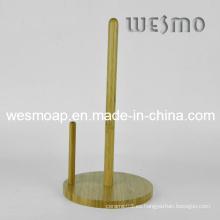 Soporte de bambú del papel del estante de la servilleta (WBB0337B)