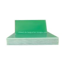 Elektrische Isolierung grünes Fiberglas fr4 Epoxidblatt