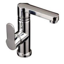 China Grifo del lavabo del cuarto de baño de la manija lateral de la alta calidad (2528)