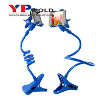 High quality mobile phone holder plastic parts mobile phone support for motorcycle plastic parts mobile phone stents part