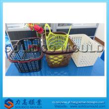 molde da cesta de mão