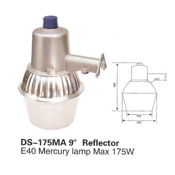 """Street Light (DS-175MA-9 """"-Reflector)"""