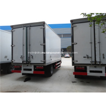 Camiones refrigerados con caja de hielo y cuarto frío