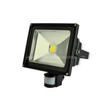 Proyector de alta potencia LED de 50W RGB al aire libre con sensor PIR