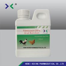 Solution de tilmicosine 30% 1000ml Volaille