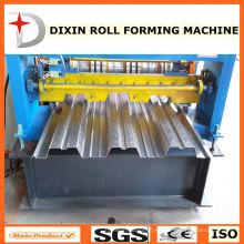 Dixin venta caliente 980 aluminio perfil de suelo de la maquinaria de cubierta