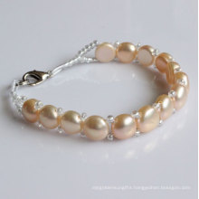 Fashion Nature Freshwater Pearl Bracelet (EB1527-1)