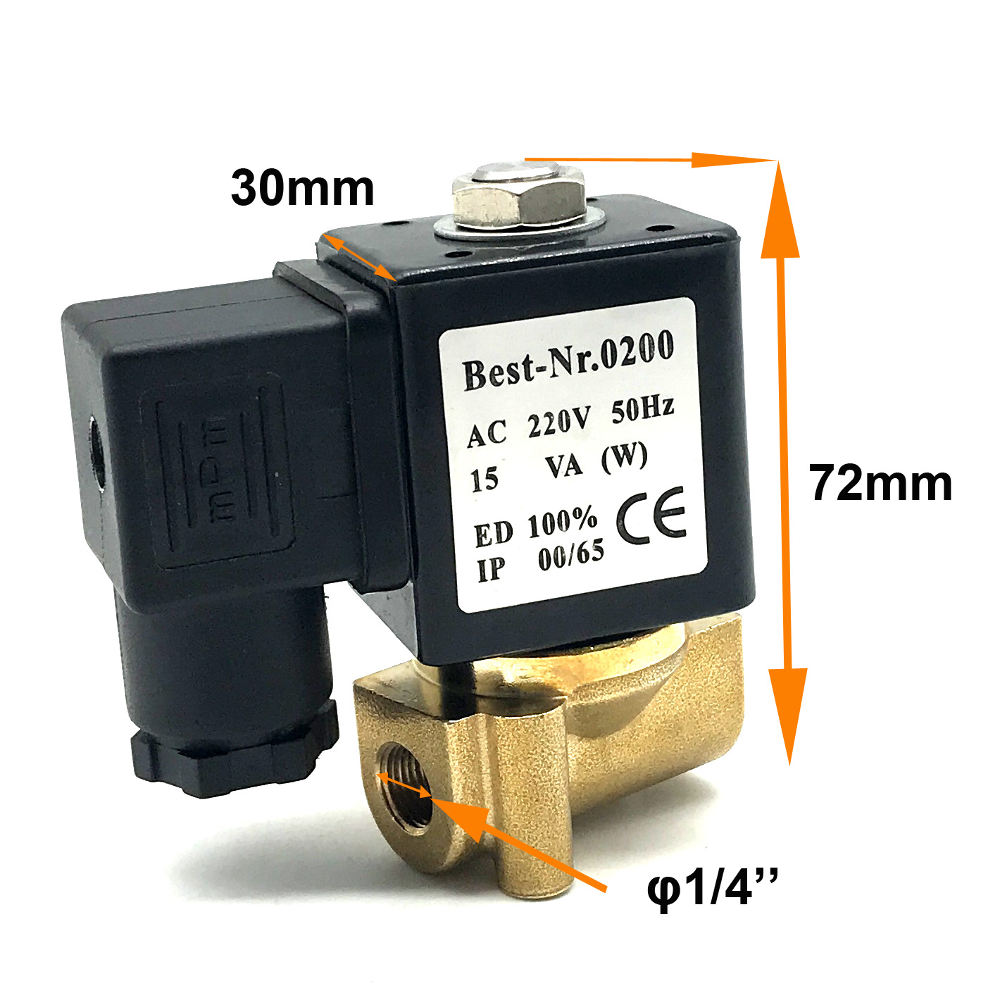 UNI-D Type US-8 G1/4'' Normally Closed Solenoid Valve