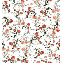 Polyester Floral Digital Printed Woven Garment Fabric
