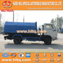 DONGFENG 4X2 new model 5 cubic 95hp trash collecting truck best price high quality in China