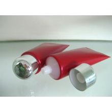 Tubo de plástico extrudado para embalagens de cosméticos