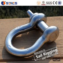 """Screw Pin Anchor Stainless Steel Bow Shackle 3/4"""""""