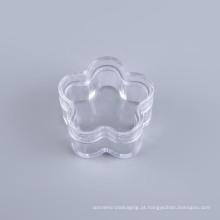 Frasco plástico cosmético da forma da flor (nj02)