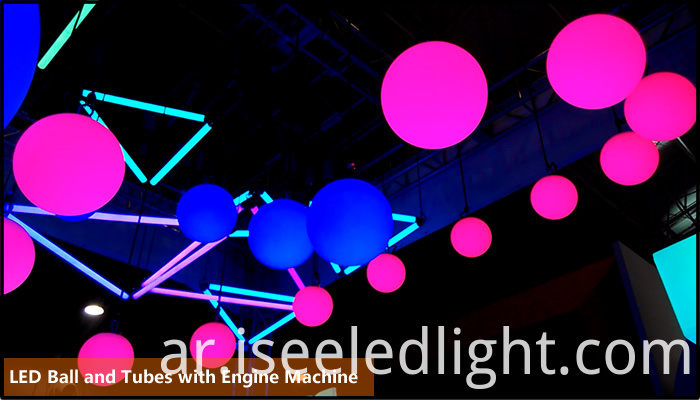 Kinetic LED Ball for nightclub