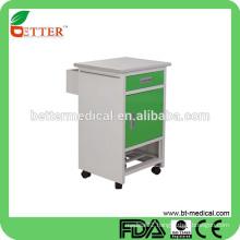 power coated Steel Bedside Cabinet