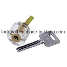 Прозрачная дверь безопасности Блокировка основных (ключевых полукруг)