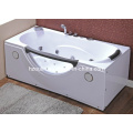 White Acrylic Sanitary Whirlpool Massage Bathtub (OL-002)