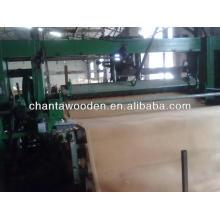 Rotary cortar folheado de madeira natural núcleo 0.3mm-1.7mm na fábrica de Linyi