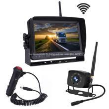Système de caméra de sauvegarde numérique sans fil avec moniteur 7 pouces