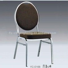 Shiny Metal Round Back Dining Chair Furniture (YC-ZG54)