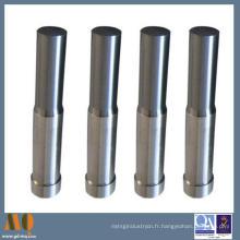 Goupilles rondes faites sur commande de coin de carbure de tungstène avec le revêtement d'étain