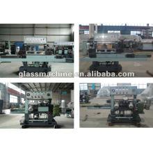 Máquina de canteado horizontal para vidrio YMA211 con 4 ruedas