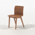 Restoran Kontemporer Solid Wood Dining Morph Chair