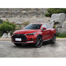 luxury electric SUV with AWD good design