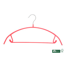 Eisho Colorful Durable Home Collection Garment Usage PVC Metal Hanger