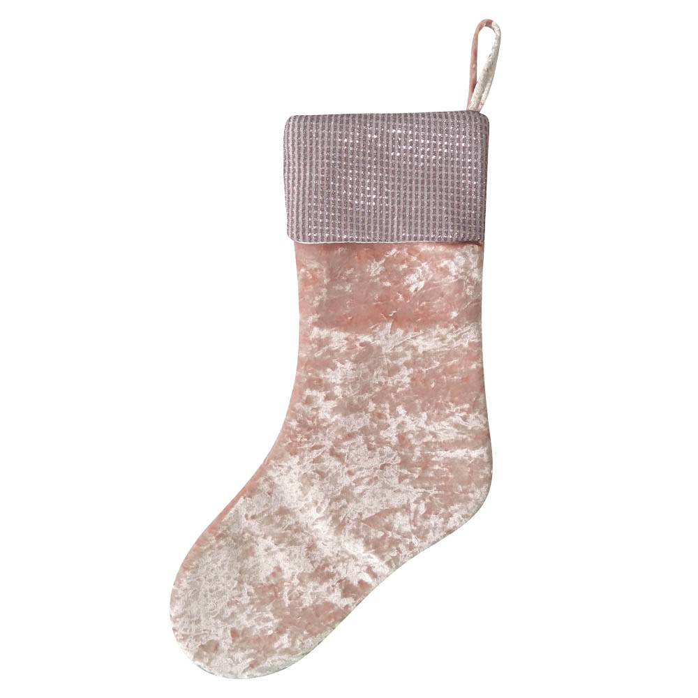 Sequin Design Christmas Stocking